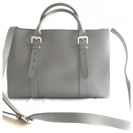 Mulberry-Bayswater lined zip-Grey
