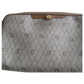 Dior-Large Dior clutch-Beige