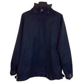 Burberry-Navy vintage jacket-Navy blue