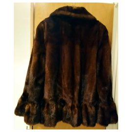 Sprung Frères-Coats, Outerwear-Brown