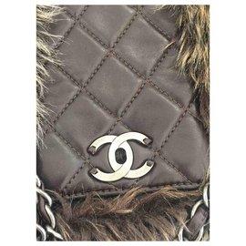 Chanel-Handbags-Brown