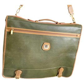 Burberry-Travel bag-Dark green