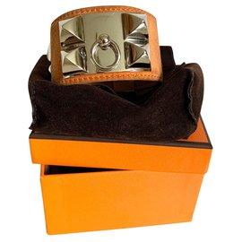 Hermès-dog collar-Brown
