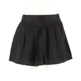 Iro-Skirt suit-Black