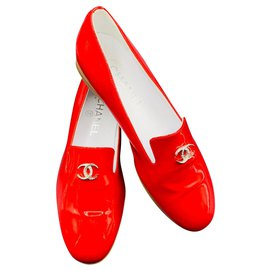 Chanel-Loafer Chanel-Red