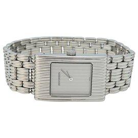 "Boucheron-Boucheron watch ""Reflet"" model in steel on steel, Medium model.-Other"