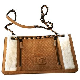 Chanel-Handbags-Caramel