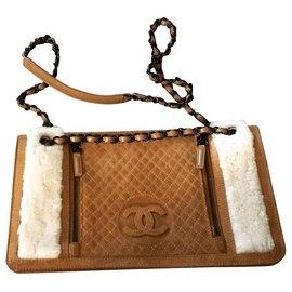 Chanel-Sacs à main-Caramel