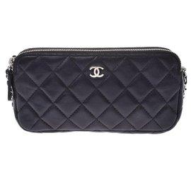 Chanel-Courroie Chanel-Noir