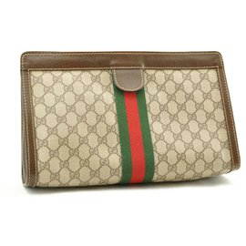 Gucci-Gucci Sherry Line Portefeuille-Marron