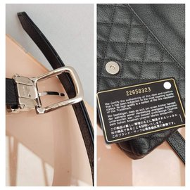 Chanel-Pouch with belt 2.55-Black
