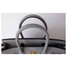 Hermès-HERMES BIRKIN BAG 30-Grey
