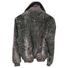 Hermès-Jackets-Grey