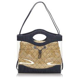 Chanel-Chanel blue 31 Shopping bag-Brown,Blue,Beige,Navy blue