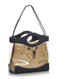 Chanel-Chanel bleu 31 Shopping-Marron,Bleu,Beige,Bleu Marine