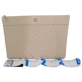 Chanel-Chanel Caviar Clutch Bag-Other