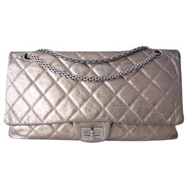 Chanel-Chanel bag 2.55 maxi-Golden