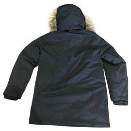 Diesel-Manteaux de garçon-Noir