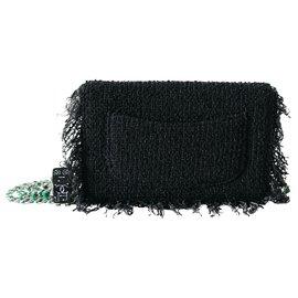 Chanel-Sacs à main-Noir,Vert