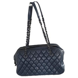 Chanel-Handbags-Blue