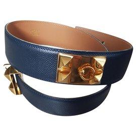 Hermès-medor-Navy blue