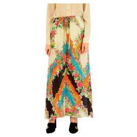 Gucci-Pantalon Gucci nouveau-Multicolore