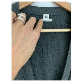 Hermès-Modèle jacquard H Hermès-Gris anthracite