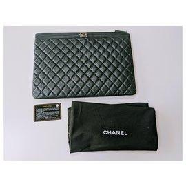 Chanel-Chanel Boy O Case-Black