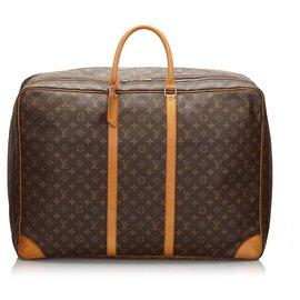 Louis Vuitton-Louis Vuitton Brown Monogram Sirius 65-Marron