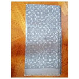Louis Vuitton-écharpe louis vuitton m75120-Gris