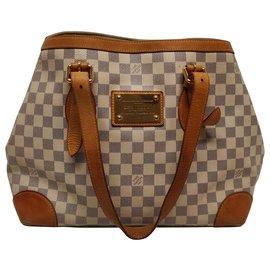 Louis Vuitton-Louis Vuitton Hampstead MM-Blanc