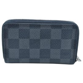 Louis Vuitton-Louis Vuitton Damier Graphite Zippy-Bleu
