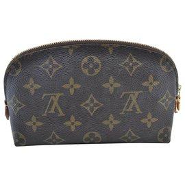 Louis Vuitton-Pochette Monogram Louis Vuitton-Marron
