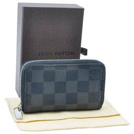 Louis Vuitton-Porte monnaie louis Vuitton-Bleu