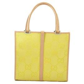 Gucci-Gucci Shoulder Bag-Yellow
