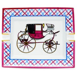 Hermès-Carriage-Pink,Blue