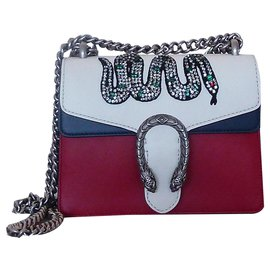 Gucci-GUCCI DIONYSUS SERPENT CRISTAL NEW LIMITED EDITION-Multiple colors