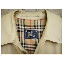 Burberry-Burberry men's raincoat vintage size 62-Beige