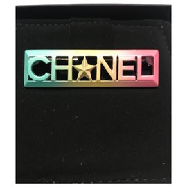 Chanel-Chanel Multicolored Brooch , New never used-Multiple colors