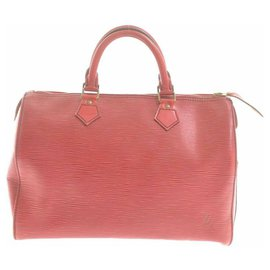 Louis Vuitton-Louis Vuitton Epi Speedy 30-Red