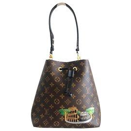 Louis Vuitton-Louis Vuitton NeoNoé Colosseum Bag-Brown