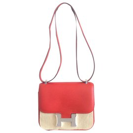 Hermès-Hermes Constance Rote Tasche-Rot