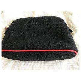"Hermès-""Bolide"" toiletry bag-Black"