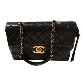 Chanel-Jumbo vintage-Noir