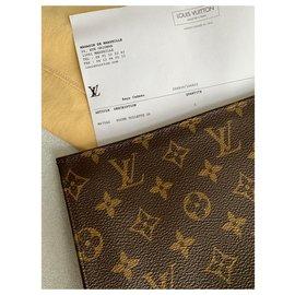 Louis Vuitton-Pochette 26-Brown