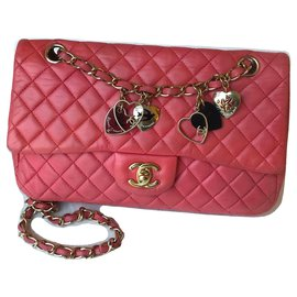 Chanel-Limited Medium Flap Bag-Pink,Fuschia