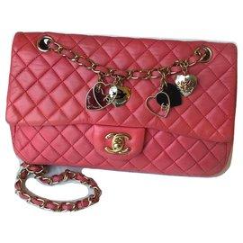 Chanel-Limitierte Medium Flap Bag-Pink,Fuschia