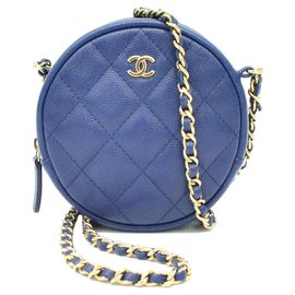 Chanel-Chanel Matelassé 28 Chaîne-Bleu
