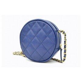 Chanel-Chanel Matelassé 28 Chain-Blue