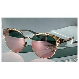 Christian Dior-Sonnenbrille Christian Dior einzigartige Limited Edition Collection 2019-Golden